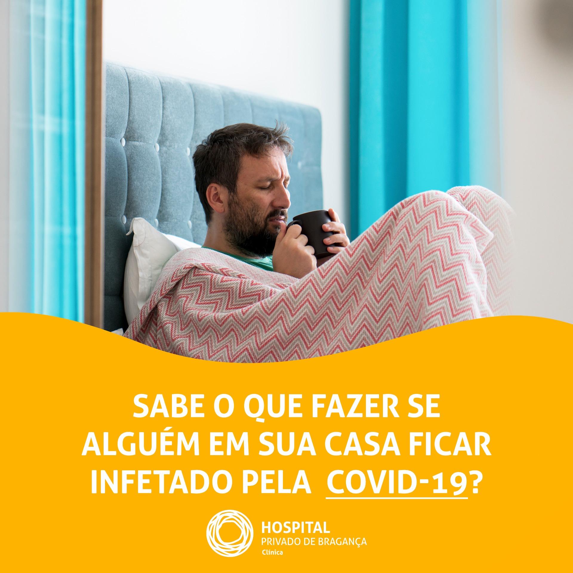 Sabe o que fazer se alguém em sua casa ficar infetado pelo #COVID-19?